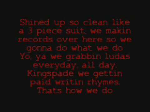 We ridin with lyrics