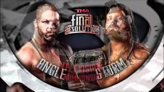 TNA Final Resolution 2011 Matchcard
