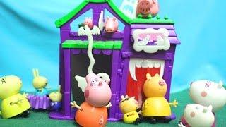 peppa pig свинка пеппа и ее семья пеппа новая серия мультфильм для детей комната страха