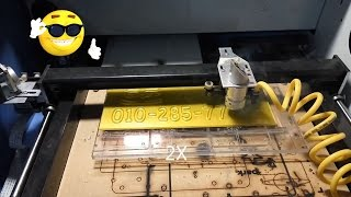 china 50W Co2 laser Cutting Acrylic :)
