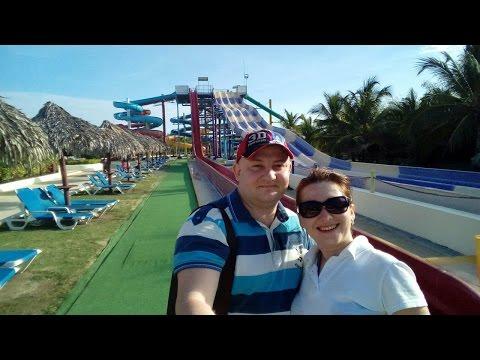 Мы в аквапарке отель Sirenis Punta Cana Resort Spa 5