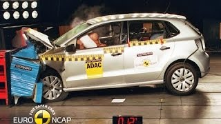 Volkswagen Polo Crash Test Euro NCAP