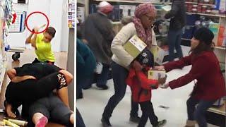 Black Friday Shopping Chaos Compilation 2019 !!