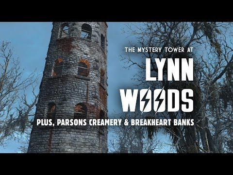 The Mystery Tower at Lynn Woods - Plus, Parsons Creamery & Breakheart Banks - Fallout 4 Lore