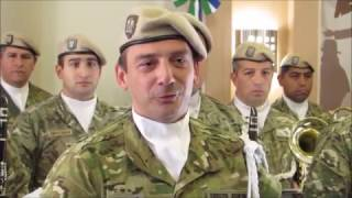 Reconocimiento a la Banda Militar