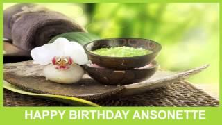 Ansonette   Birthday Spa - Happy Birthday