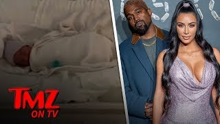 Kim K and Kanye West Name Baby No. 4 Psalm West   TMZ TV