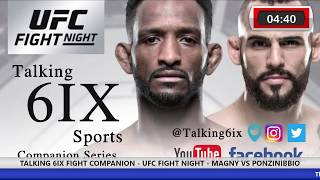 UFC FIGHT NIGHT - MAGNY VS PONZINIBBIO - Main Card