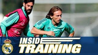 Real Madrid vs Club Brugge | Final training session (Champions League)