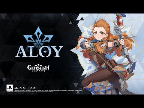 "Character Demo - ""Aloy: Otherworldly Hunter""   Genshin Impact"