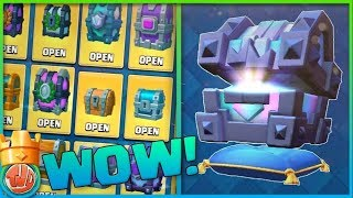 EXTREEM GROTE CHEST OPENING!!! - Clash Royale