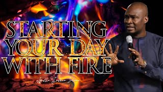 APOSTLE JOSHUA SELMAN: STAŔTING YOUR DAY WITH APOSTLE JOSHUA SELMAN SERMONS