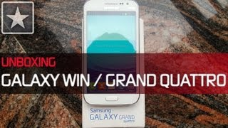 ★ Galaxy Win / Grand Quattro | Unboxing