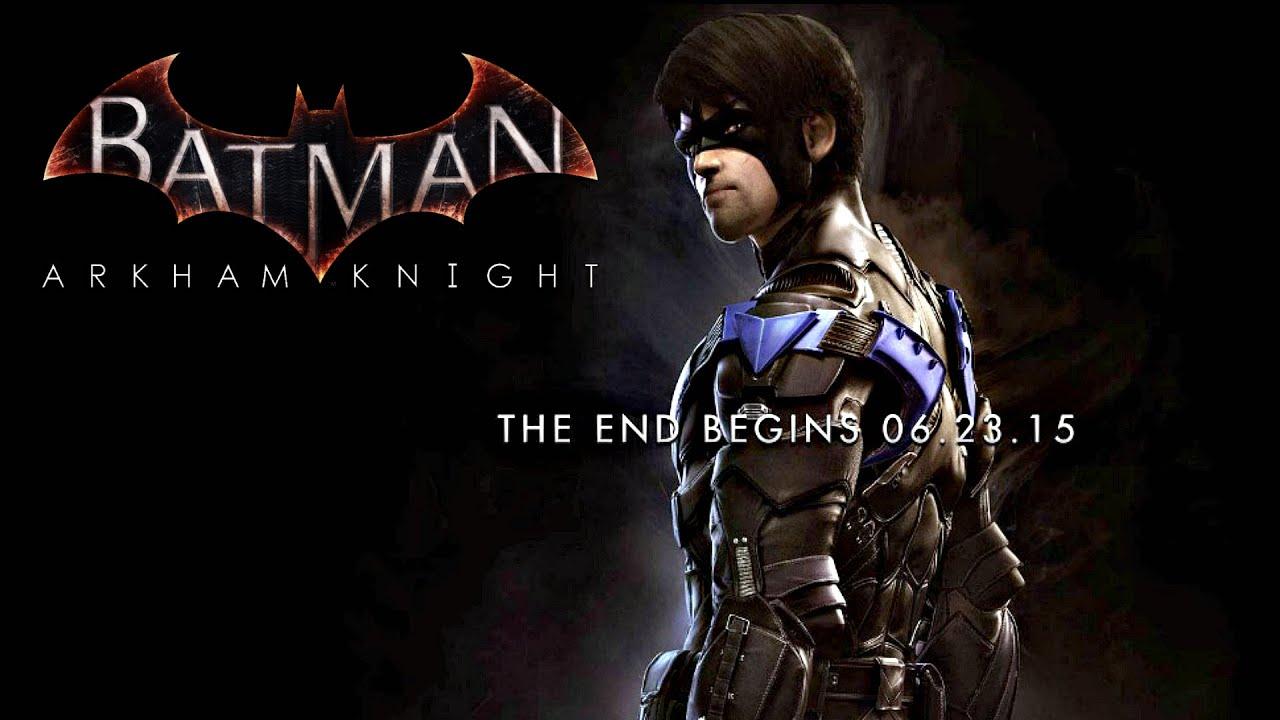 Batman Arkham Knight Nightwing Screenshot