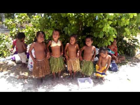 Fanning Island Children