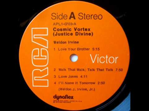 Jazz Funk - Weldon Irvine - Walk That Walk, Talk That Talk