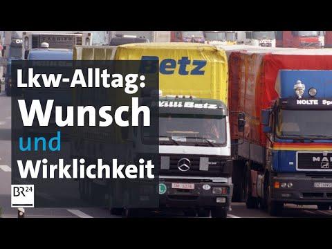 Lkw-Fahrer Und Ihre Rechte: Wunsch Und Wirklichkeit Klaffen Weit Auseinander   Kontrovers   BR24