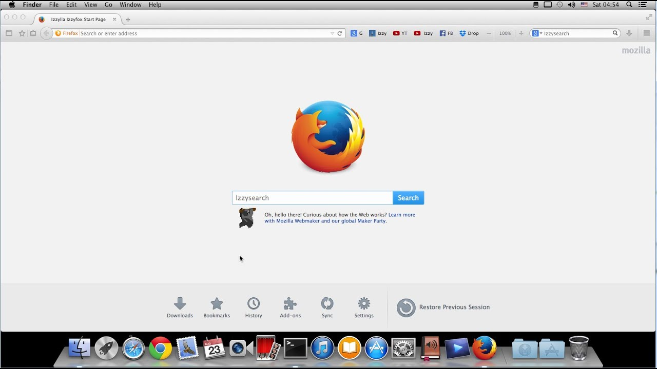 Firefox Version For Os X - download for Mac