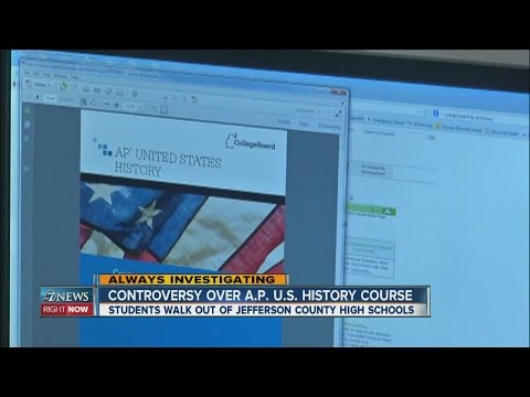 Controversy over AP US History Course