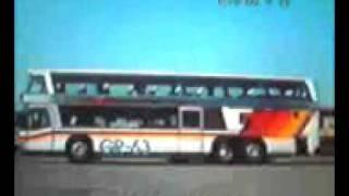 日の丸自動車 ゴールドラッシュ号 二階建て観光バス