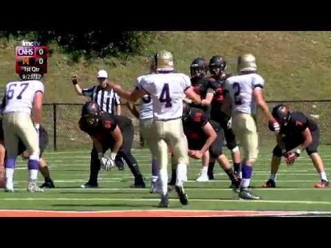 LMC Varsity Sports - Football - Clarkstown North at Mamaroneck - 9/23/17