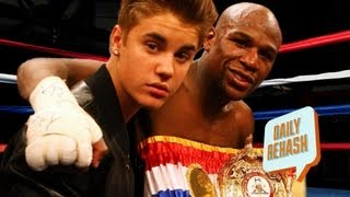 Floyd Mayweather Makes Fight Entrance with...Justin Bieber ?? | DAILY REHASH | Ora TV