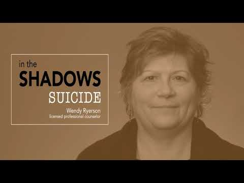PREVIEW In the Shadows – Suicide, professional tips for anxiety, depression and anger