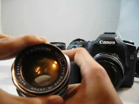 how to use vintage manual focus lenses on dslr cameras feat canon rh youtube com Discount Canon EOS Lenses Canon EOS M