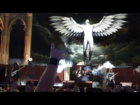 Iron Maiden - Flight of Icarus Live @ Letnany Airport Prague 20.6.2018