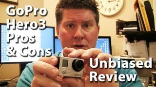 GoPro Hero3 Black Edition Review - Pros and Cons