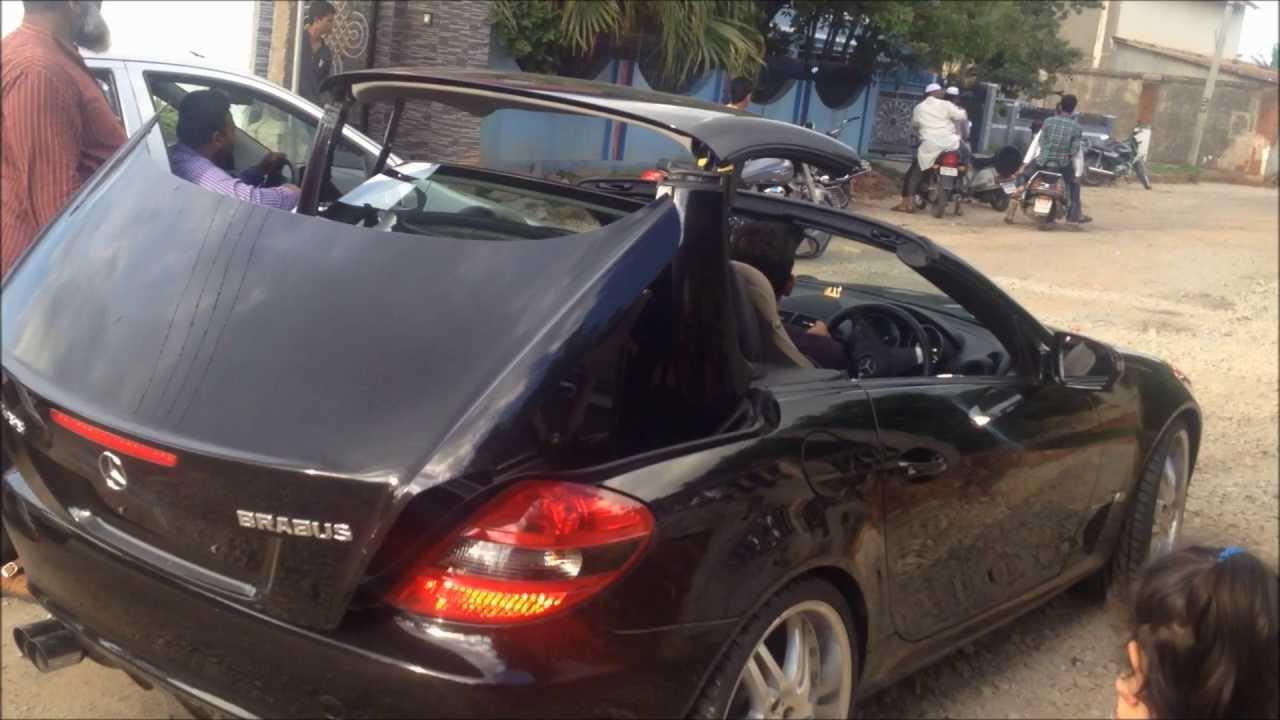 & Mercedes Benz SLK - Brabus with scissor Doors - YouTube