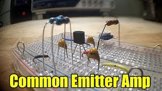 How to build a Common Emitter Amplifier