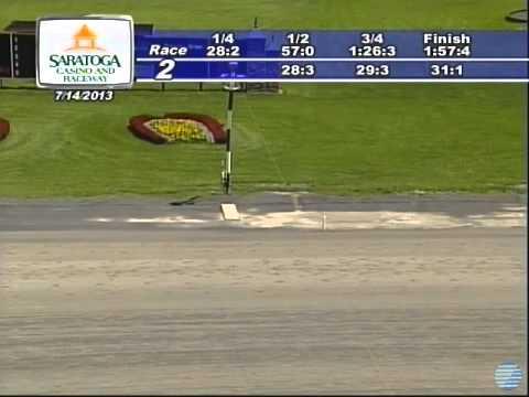 Rose Troy (1:57.4) Winner --Saratoga Harness-Race 2,Sun, Jul 14, 2013