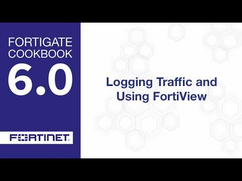 Cookbook - Logging and FortiView (6 0) - YouTube