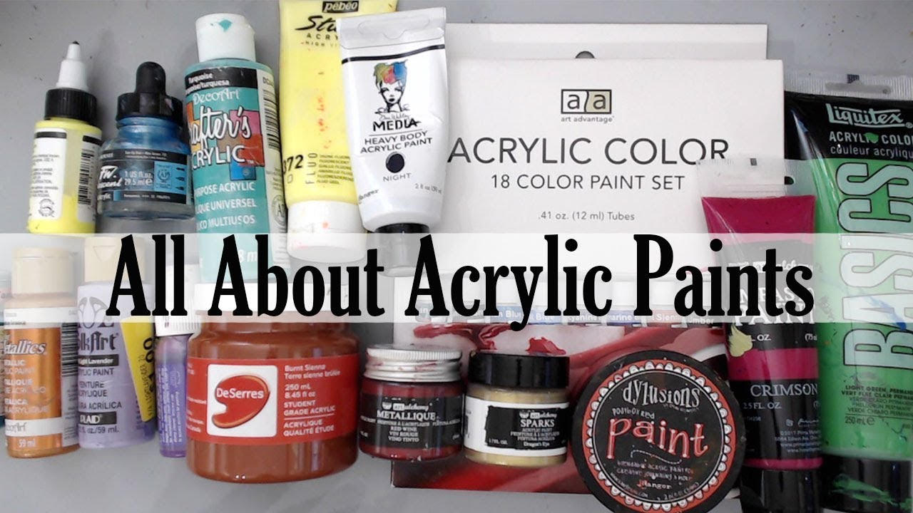 Acrylic Painting Techniques For Beginners 10 Tips And Hacks Paints