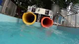 Tube Water Slide at Aquaticum