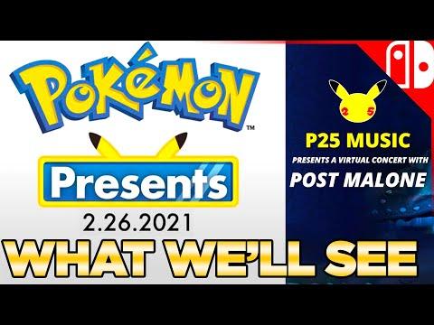 Pokemon Presents TOMORROW, P25 Music Concert, & Singing Pikachu