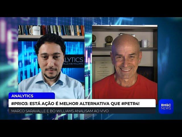 #PRIO3: ESTA AÇÃO É MELHOR ALTERNATIVA QUE #PETR4  | ANALYTICS