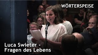 Luca Swieter – Fragen des Lebens