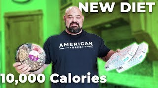 Download FULL DAY OF EATING ON THE NEW DIET! 10,000 CALORIES Mp3 and Videos