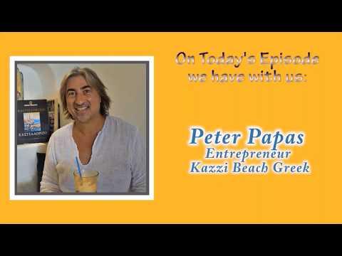 Το Τρελό Λεπτό/ The Mad Minute #96- with entrepreneur, Peter Papas, of Kazzi Beach Greek