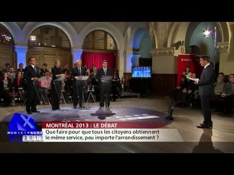 Montréal 2013: le débat