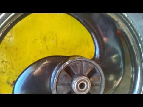 Royal Enfield alloy wheels parado