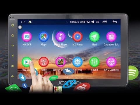 Demonstração Multimidia Veicular Android - Joying JY-UMS03N