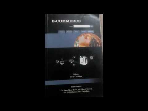 E-Commerce - Unit 3 - Technology For Online Business (B.com Program (Shruti Mathur)
