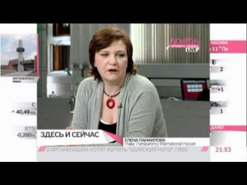 Елена Панфилова о доходах госслужащих