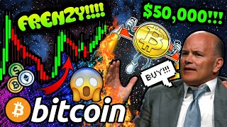 BITCOIN INSTITUTIONAL FRENZY!!! THIS IS JUST THE BEGINNING!!! $50k BTC EASY!! 🚀