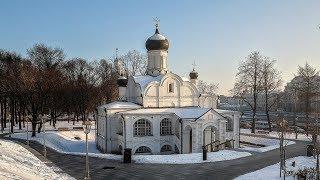 Церковь Зачатия Святой Анны в Зарядье в Москве. Достопримечательности Москвы.