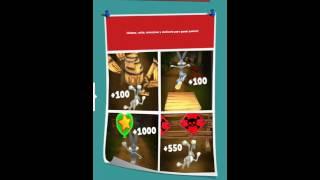 Looney Tunes nivel 440 3 estrellas tarjeta looney