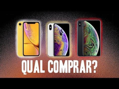 iPhone XS, XS MAX OU XR? Qual comprar?